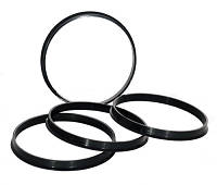 Центровочные кольца 110,1 x 108,1 (JN 2708) - Термостойкий поликарбонат 280°C, штука