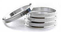 Центровочные кольца 66,6 x 57,1 (JN 2210) - aлюминевые 280°C, штука