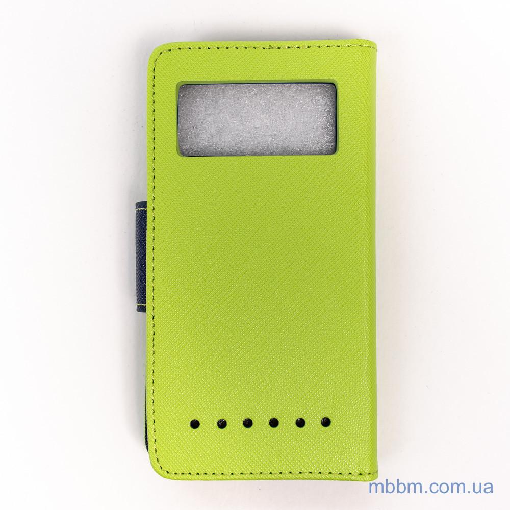 Чехлы для других смартфонов Goospery Fancy Diary Universal 4.5 green