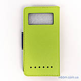 Чехол Goospery Fancy Diary Universal 4.5 green [копия], фото 2