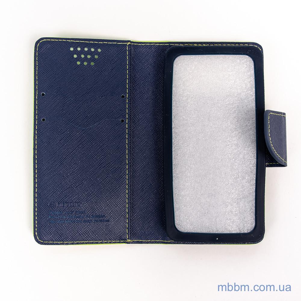 Чехлы для других смартфонов Goospery Fancy Diary Universal 4.5 green Для телефона