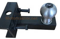 Фаркоп груша для мототрактора или тяжелого мотоблока - переходник на прицеп
