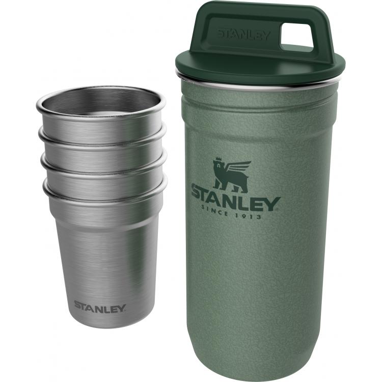 Зеленый набор стопок STANLEY Adventure 0,59L (10-01705-039)