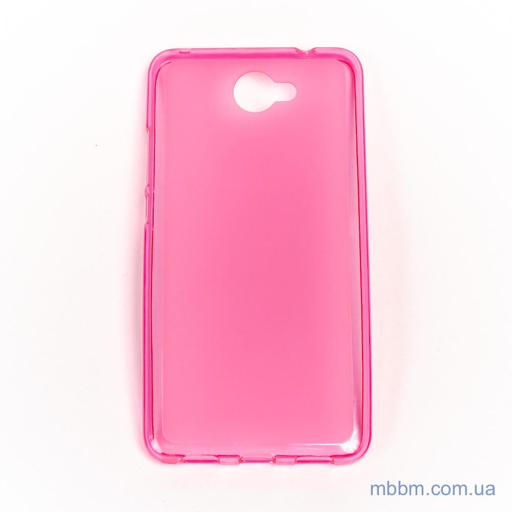Чехол TPU Huawei Y7 pink Для телефона