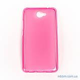 Чехол TPU Huawei Y7 pink, фото 2