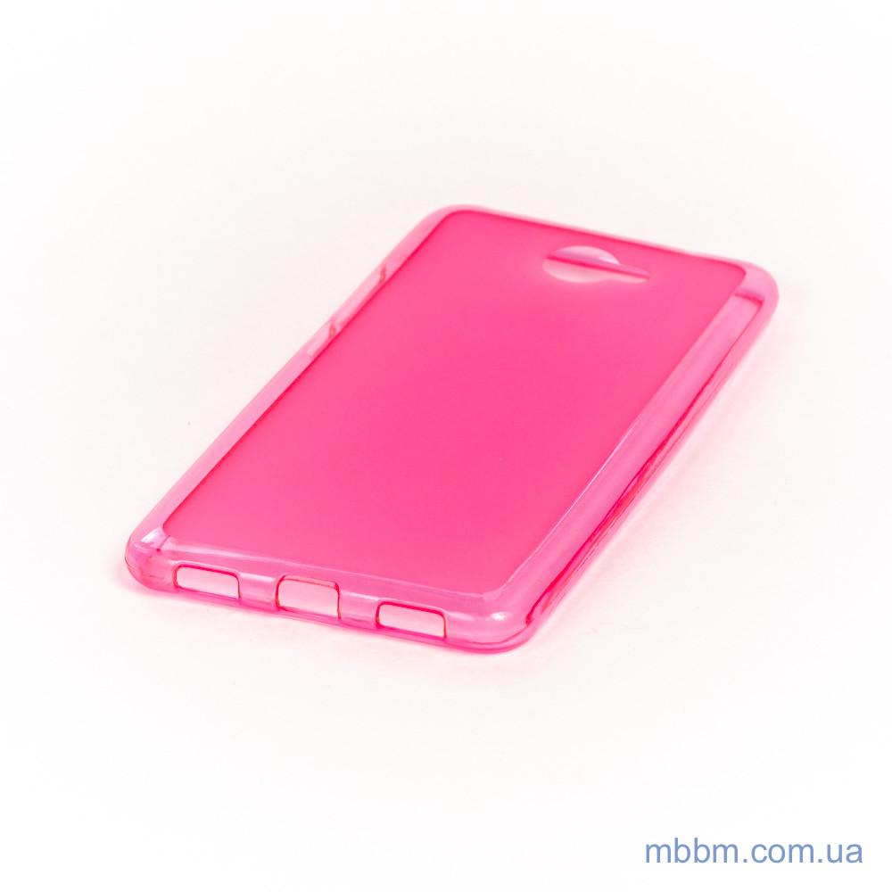 Чехол TPU Huawei Y7 pink