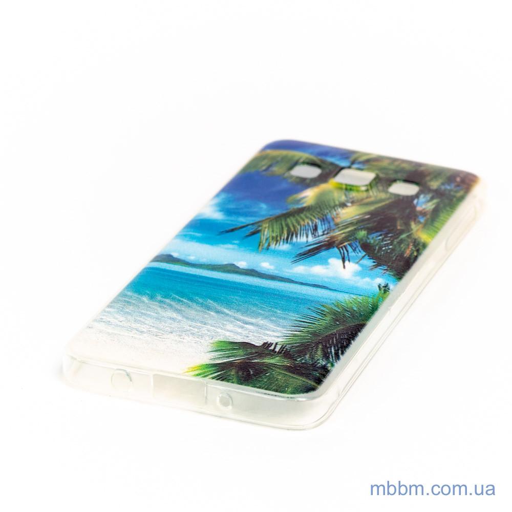 Чехол Silicon Foto Samsung A3 A300 bounty island