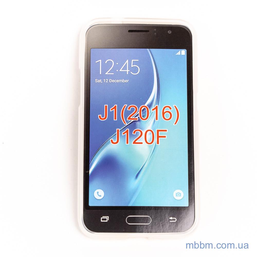 Чехол TPU Samsung Galaxy J120 white Для телефона J1(2016)