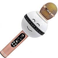Караоке микрофон Wster WS 878 Розовый, фото 1