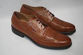 Туфли мужские Geox цвет рыжий размер 45 46 арт U52W1C00043C6001