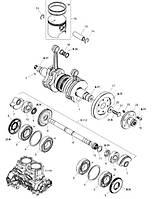 Полутрапецеидальное кольцо 88,25 мм для гидроциклов Sea-Doo SEGMENT L*RING-L