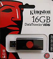 Флеш накопитель Kingston DataTraveler 106  16 гб 3.1