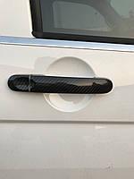 Volkswagen Caddy 2015↗ Карбоновые накладки на ручки 4 штуки