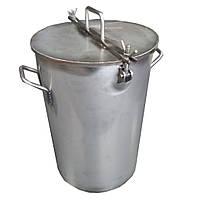 Емкость 10л с краном. Нержавеющая сталь AISI-304, фото 1