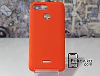 Чехол для смартфона Xiaomi Redmi 6 Soft-touch Orange