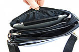 Сумка планшет. Мужская сумка кожа PU. Сумка планшет мужская. Офисная сумка., фото 3