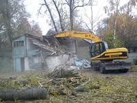 Демонтаж домов. Демонтаж старых домов.