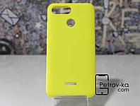 Чехол для смартфона Xiaomi Redmi 6 Soft-touch Yellow