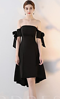 Женское черное платье на корсетике скрытом. Любой размер и цвет.