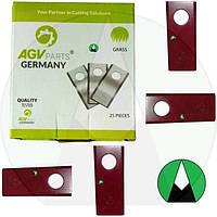 Нож AGV 96x40x3 25 шт. польской роторной косилки (1.35 м) | 5036010450 AGV