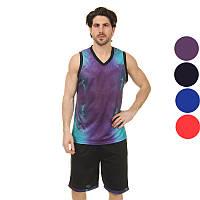 c64ce1e1 Форма баскетбольная мужская Space 8007 (баскетбольная форма): 4 цвета,  размер L-