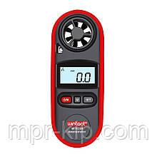 Цифровий анемометр Wintact WT816A (0,4 - 30 м/с) (крок виміру - 0,1 м/с) з вимірюванням температури