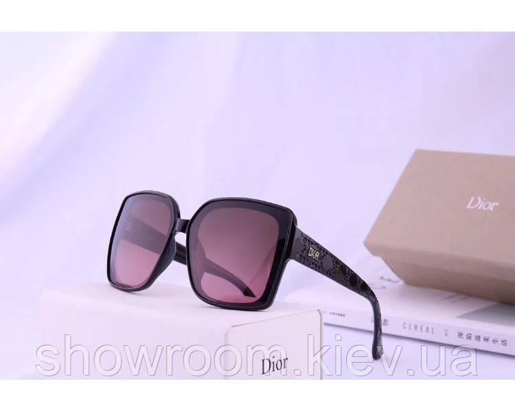 Женские брендовые солнцезащитные очки с поляризацией (2973) brown