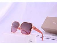 Женские брендовые солнцезащитные очки с поляризацией (2973) rose