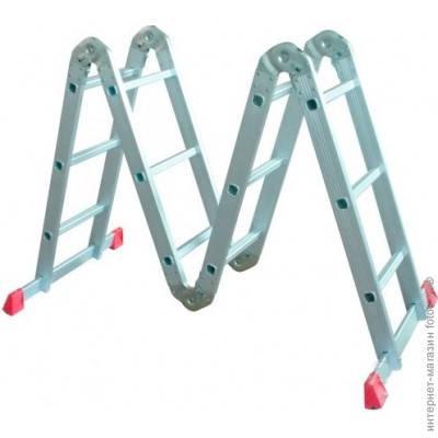 Лестница-трансформер универсальная 3х4 R-14203 (без платформи)