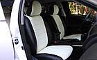 Чехлы на сиденья Джили МК2 (Geely MK2) (универсальные, экокожа, отдельный подголовник), фото 4