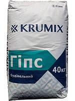Гипс строительный KRUMIX Г-5 Н II 40 кг