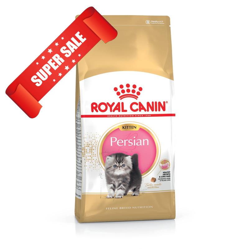 Сухой корм для котов Royal Canin Persian Kitten 2 кг + 2 кг
