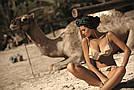 Женский раздельный купальник, с воланом, в расцветках, Мarko, фото 3