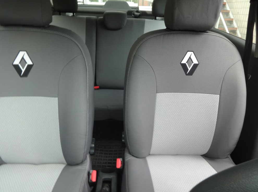 Чехлы на сиденья Форд Мондео (Ford Mondeo) (универсальные, автоткань, с отдельным подголовником)