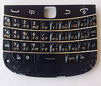 Оригінальна Клавіатура BlackBerry 9900 Bold, Black, (Кирилиця) Original/Російська розкладка/Кнопки/клавіші