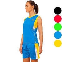 Форма баскетбольная женская Ease 8295W (баскетбольная форма): 5 цветов, размер L-2XL (44-50)