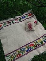 Набір ліжник + 2 подушки з овечої шерсті, фото 1