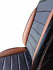 Чехлы на сиденья Фиат Гранде Пунто (Fiat Grande Punto) (универсальные, кожзам, пилот СПОРТ), фото 6