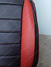 Чехлы на сиденья Фиат Гранде Пунто (Fiat Grande Punto) (универсальные, кожзам, пилот СПОРТ), фото 9