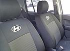 Чехлы на сиденья Фиат Гранде Пунто (Fiat Grande Punto) (универсальные, автоткань, с отдельным подголовником), фото 3