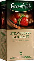 Чай пакетированный Greenfield StrawberryGourmet 25 пак. x 2 г