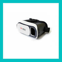 Очки виртуальной реальности VR BOX с пультом (белые)!Акция