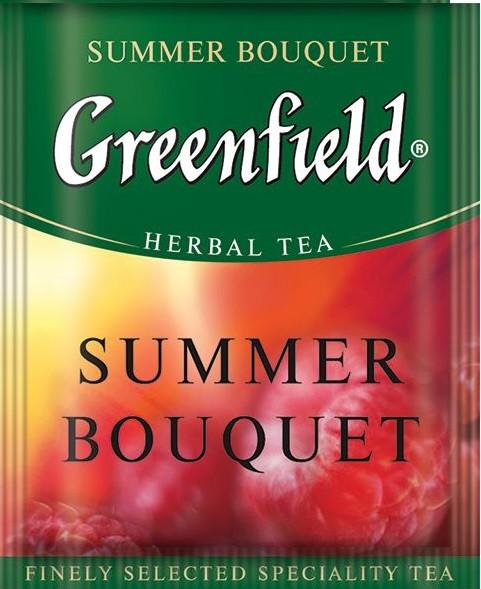 Чай пакетированный Greenfield Summer Bouquet 100 пак. x 2 г