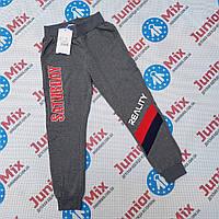 Подростковые  трикотажные спортивные штаны для мальчиков оптом F&D