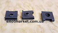 Металлическая пластина крепление брызговиков надколесных дуг VW, BMW, Audi. ОЕМ: 0009940545, N0154452