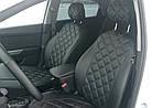 Чехлы на сиденья Дачия Логан МСВ (Dacia Logan MCV) (модельные, 3D-ромб, отдельный подголовник), фото 6