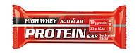 Протеиновый батончик ActivLab - High Whey Protein Bar (80 грамм) ваниль