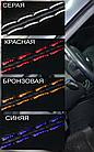 Чехлы на сиденья Шевроле Ланос (Chevrolet Lanos) (модельные, экокожа Аригон, отдельный подголовник), фото 3