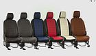 Чехлы на сиденья Шевроле Ланос (Chevrolet Lanos) (модельные, экокожа Аригон, отдельный подголовник), фото 5