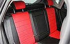 Чехлы на сиденья Шевроле Ланос (Chevrolet Lanos) (модельные, экокожа Аригон, отдельный подголовник), фото 7